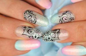 formation nail art