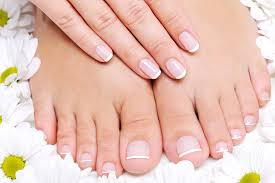 pieds ongles french